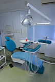 Modern Dentist's chair Stock Images