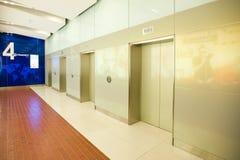 Modern deserted lift lobby Stock Photography