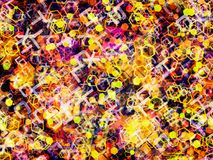 Modern design abstract background. S texture stock illustration