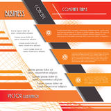 Modern design background for business. Royalty Free Stock Images