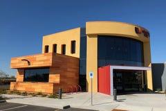 Modern Design of a bank in Gilbert Arizona. Modern Architecture design of bank in Arizona Royalty Free Stock Photo