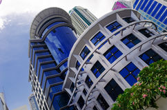 Modern design. Building at sathorn rd Royalty Free Stock Images