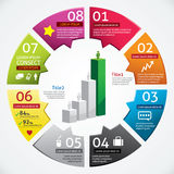 Modern Design Business Infographics Royalty Free Stock Images