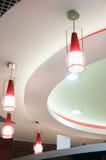Modern design ceiling Stock Image