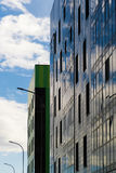 Modern design city apartment building in the city Stock Photography