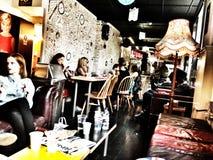 Modern design coffee shop Stock Image