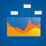 Modern design comparison chart Stock Photo