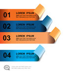 Modern design element template Stock Photo