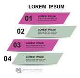 Modern design element template Royalty Free Stock Images