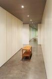 Modern design för hus, inre Royaltyfri Fotografi