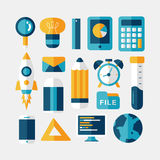 Modern design flat icon Stock Image