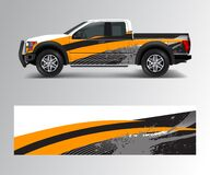 Free Modern Design For Truck Graphics Vinyl Wrap Vector Royalty Free Stock Photo - 187338865