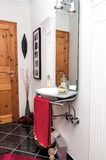 Modern design guest bathroom Stock Photography