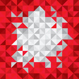 Modern Design Hipster Triangle Background. Multicolor - Grayscal Stock Images