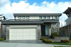 Modern Design House Home Exterior Stock Photo