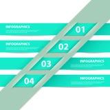 Modern Design infographics template Stock Photography