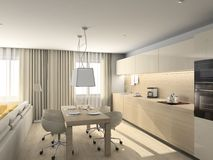 Modern design of interior Stock Photo