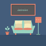 Modern Design Interior Sofa Royalty Free Stock Photo