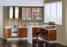 Modern design kitchen Stock Images