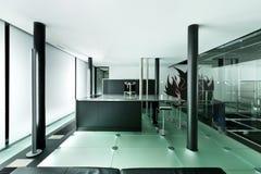 Modern design, kitchen Royalty Free Stock Image