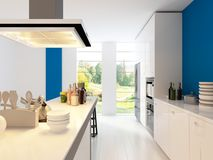 Modern Design Kitchen | Interior Architecture Stock Photos