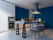 Modern Design Kitchen | Interior Architecture Royalty Free Stock Image