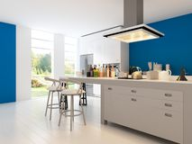 Modern Design Kitchen | Interior Architecture Royalty Free Stock Photo