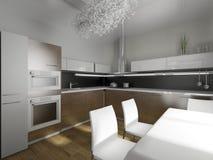 modern design kitchen Stock Photos