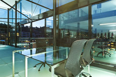 Modern design, kontor royaltyfri bild