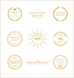 Modern design labels collection. Modern design labels isolated on white background Royalty Free Stock Images