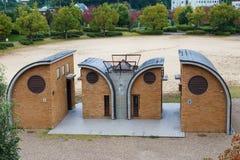 Modern design lavatory  in Daigo district, Kyoto Royalty Free Stock Image