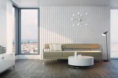 Modern design of living room Stock Image