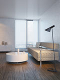 Modern design of living room Royalty Free Stock Photo