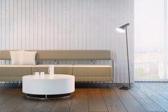 Modern design of living room Royalty Free Stock Image