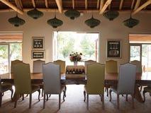 Modern design living room. Vergelegen wine estate. Royalty Free Stock Photography