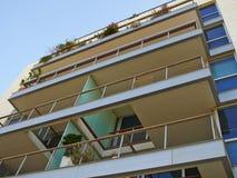 Modern design luxurious apartments condominium. Modern design luxurious executive apartments city condominium building stock photos