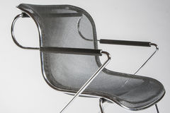 Modern design metal chair Royalty Free Stock Photography