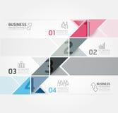 Modern Design Minimal Style Infographic Template Stock Photo