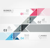 Modern Design Minimal style infographic template Stock Photo