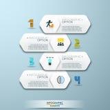 Modern Design Minimal style infographic template with numbers. Modern Design Minimal style infographic template with alphabet, can be used for infographics Stock Photos