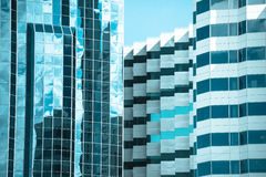 Modern design Office buildings texture Royalty Free Stock Images