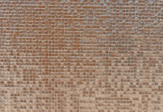 Modern design pearl mosaic tiles Royalty Free Stock Photography