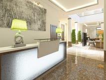 Modern design reception area. Stock Image