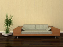 Modern design sofa Royalty Free Stock Image