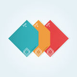 Modern Design template Royalty Free Stock Images