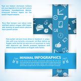 Modern Design template can be used for infographics. Modern Design template, can be used for infographics. Vector illustration for your business presentation Royalty Free Stock Photo