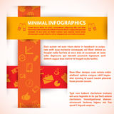 Modern Design template can be used for infographics. Modern Design template, can be used for infographics. Vector illustration for your business presentation Stock Photo