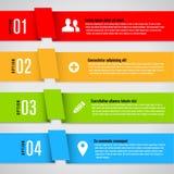 Modern design template for info graphics Stock Photos