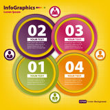 Modern Design template for infographics Royalty Free Stock Photo
