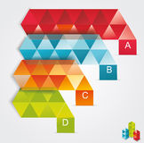 Modern Design template isometric style. Royalty Free Stock Photos